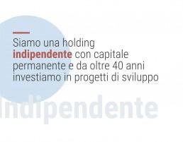 Siamo una holding indipendente