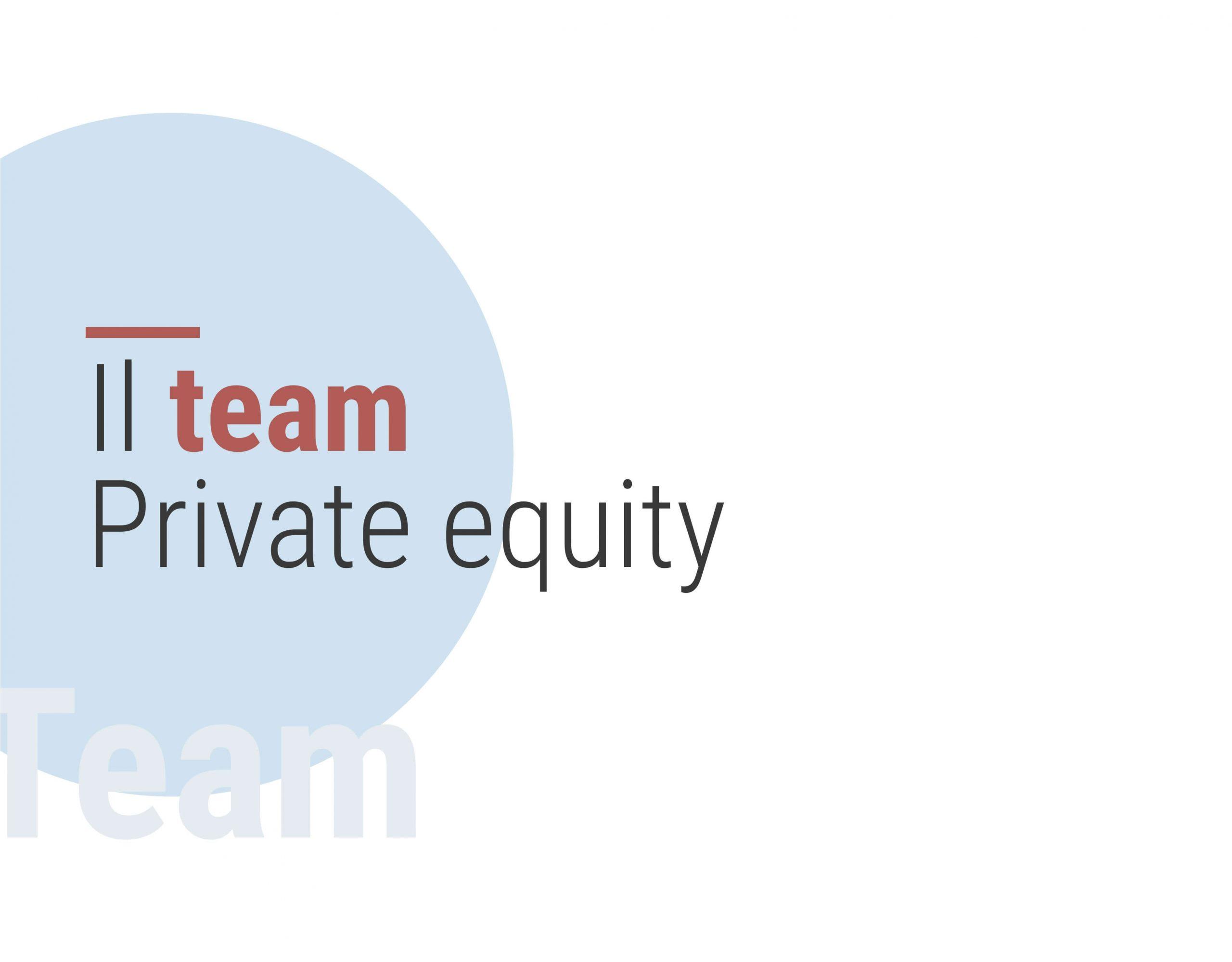 Il team Private equity di PFH - Palladio Holding