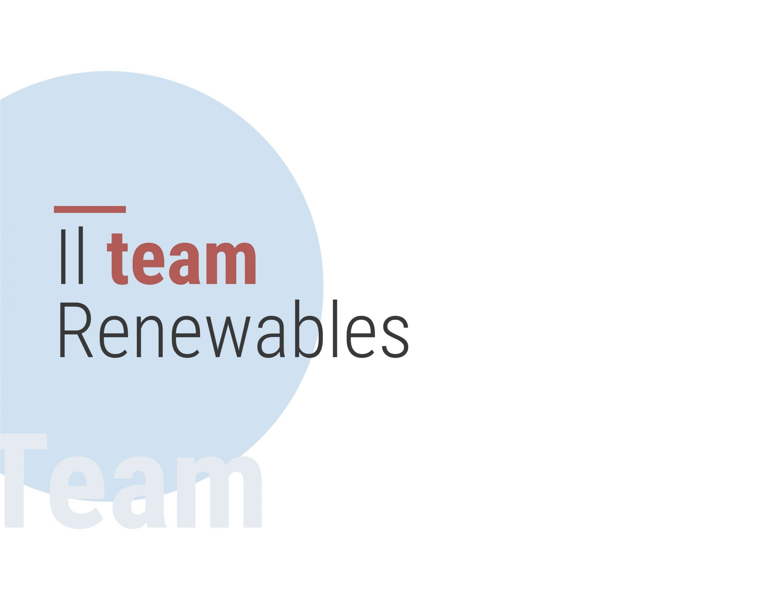 Il team Renewables