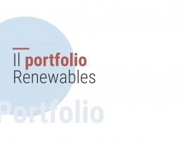Il portfolio Renewables