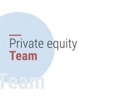 Private equity team
